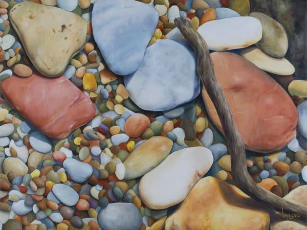 Pebble Candy | Art Prints by Giota Vorgia