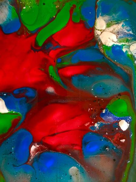 Odeta Xheka Visuals | Abstract flower art for any room