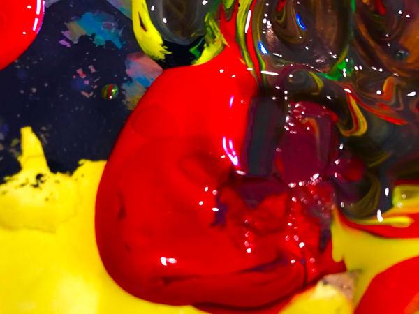 Odeta Xheka Visuals   Abstract flower art for any room
