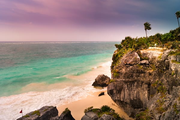 Tulum Cliffs Photography Art | Sage & Balm Photography