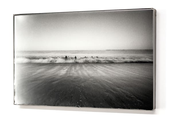 Men In Water B&W 12x18 Photography Art | Phillip Graybill Photography