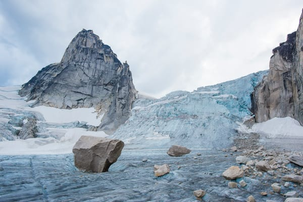 Bugaboo Glacier and Pigeon Spire