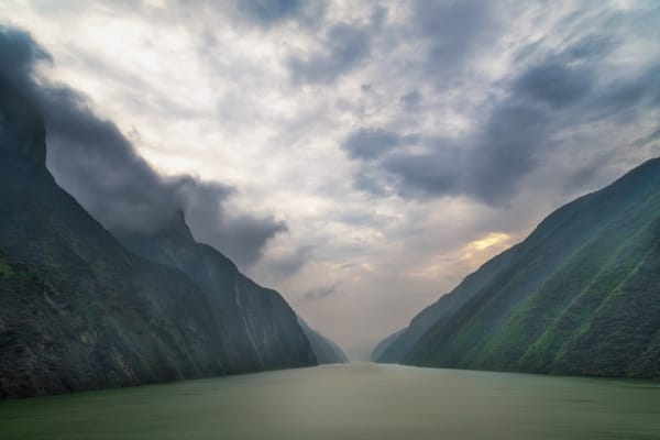 Wu Gorge Dawn, Hubei Province, China