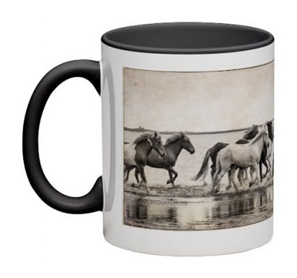 Wraparound Mug - Ancient Equus