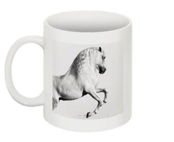 Wraparound Mug   Elegant Equine | HoofPrintsFineArt