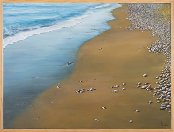 Leave Your Footprint | Original Oil Painting by Giota Vorgia