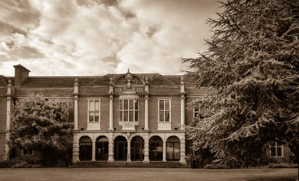 Somerville College Library, 1903 (Sepia)
