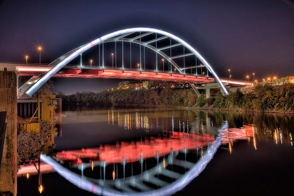 Korean's Veterans Blvd Bridge Nashville Photograph