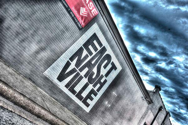 East Nashville Mural Photograph