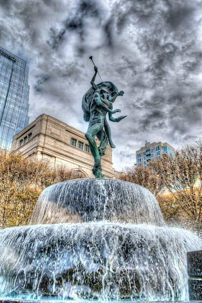 Schermerhorn Fountain Nashville Photograph