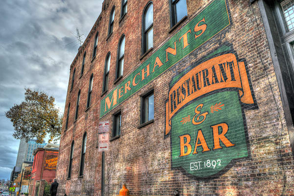 Merchants Restaurant and Bar Nashville Photograph