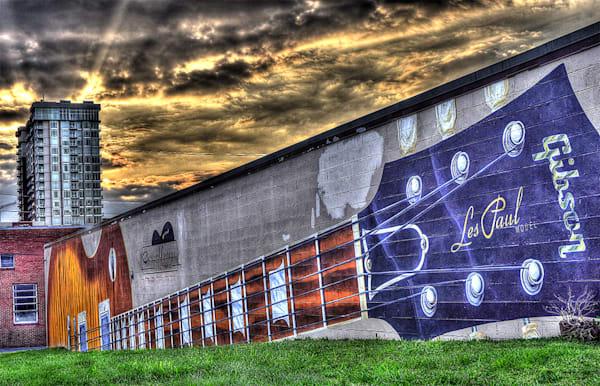 Les Paul Mural Nashville Photograph