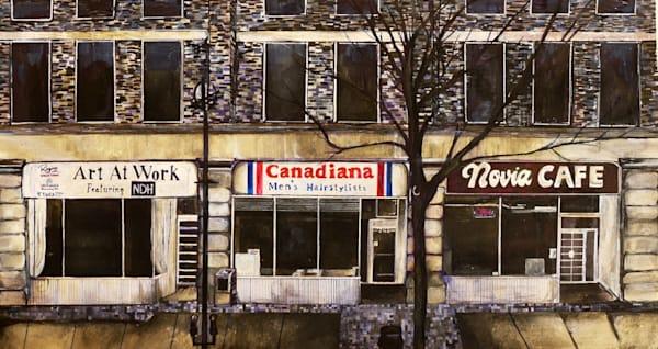 Novia Cafe Art | Art By Dana