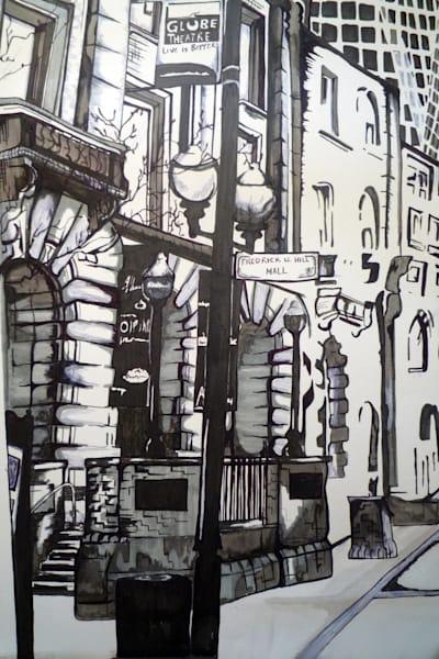 Globe Theatre Art | Art By Dana