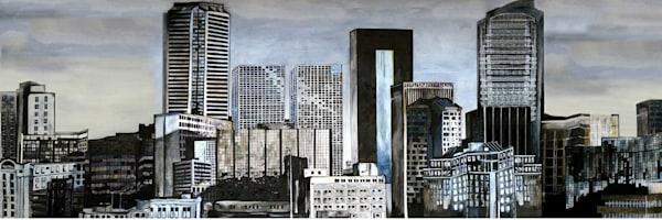 Skyline Regina Art | Art By Dana