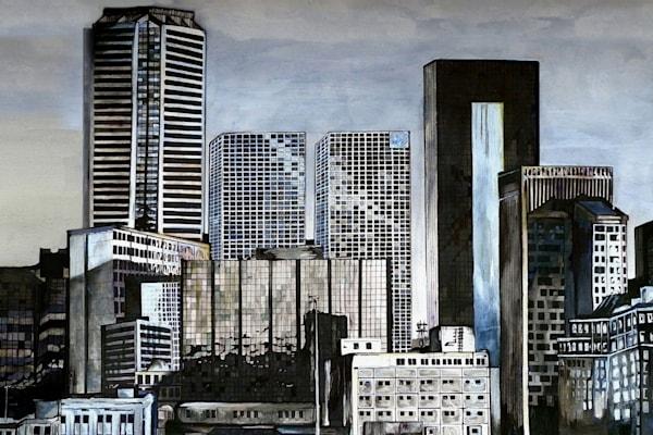Skyline Regina Close Up Art | Art By Dana