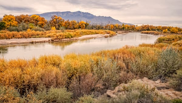 Fine Art Photographs of Coronado Rio Grande - Fall | d'Ellis PhotographicArt by Bill