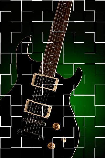 Broken Electric Guitar Image
