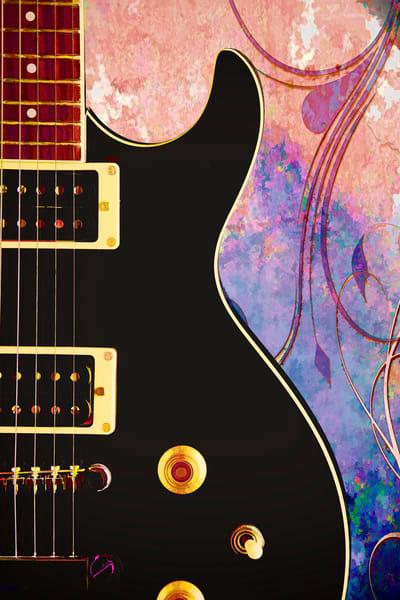 Black Electric Guitar 3323.02