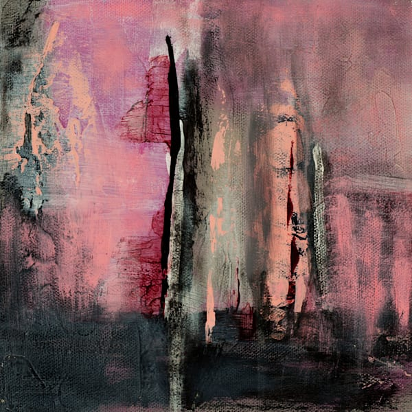 Sweeter Mystery contemporary abstract painting by Jana Kappeler.