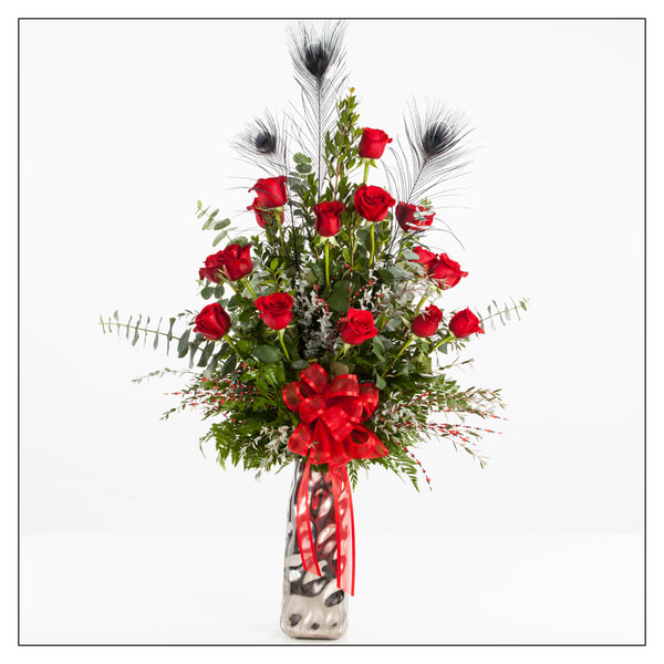 Red Rose Picture Arrangement 8050.02