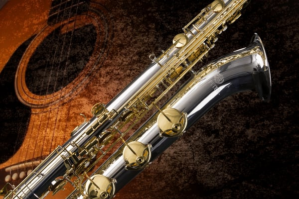 Saxophone Wall Art Color Photograph as Prints Canvas Metal