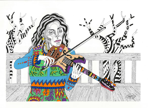 Violin Complaint Art for sale