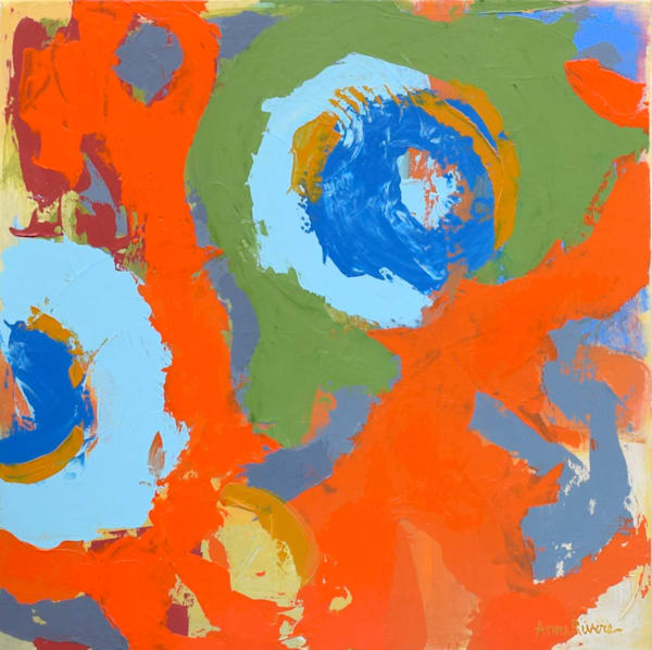 Wellspring II, acrylic on canvas, original abstract art paintings for sale/Peachtree City, GA