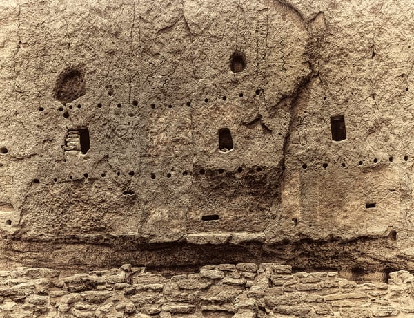 Bandelier Multistoried Dwellings, d'Ellis Photographic Art photographs, Elsa