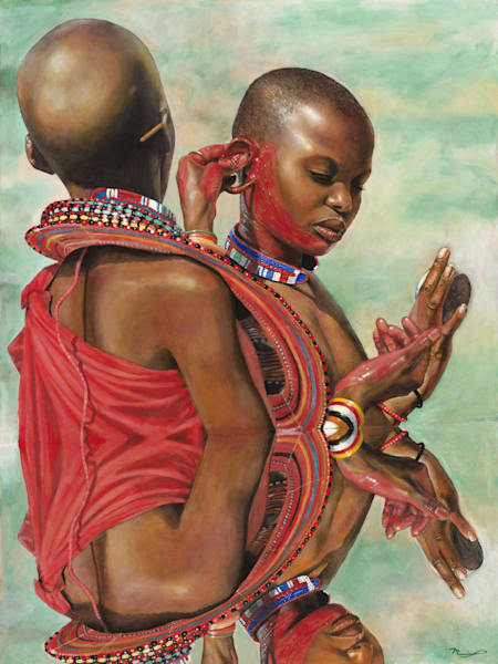 Maasai Beauty Fine Art Prints for Sale | Marcus McKinley Fine Art