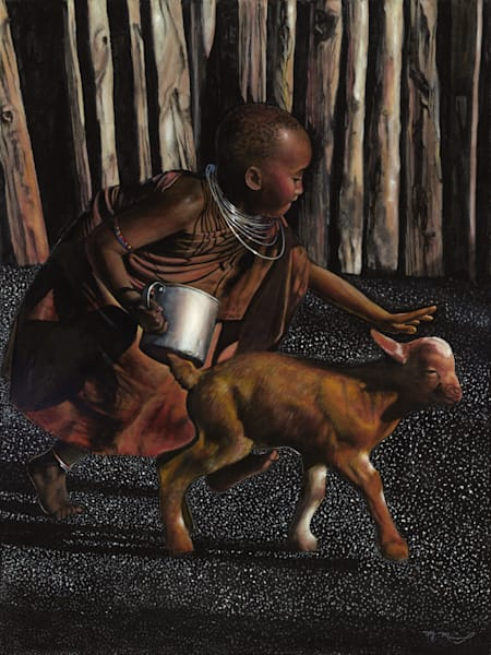 Maasai Child Fine Art Prints for Sale | Marcus McKinley Fine Art