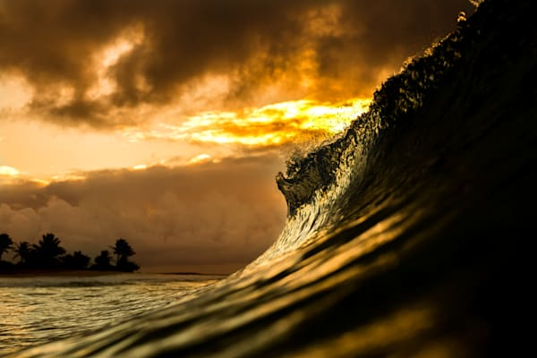 Ocean Surf Photography | Golden Hour by Jaysen Patao