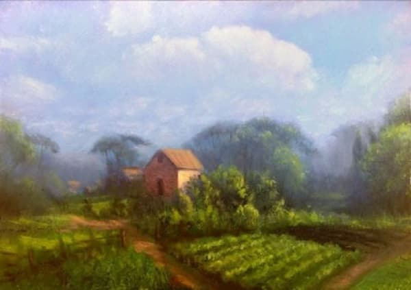 Original landscape oil paintings