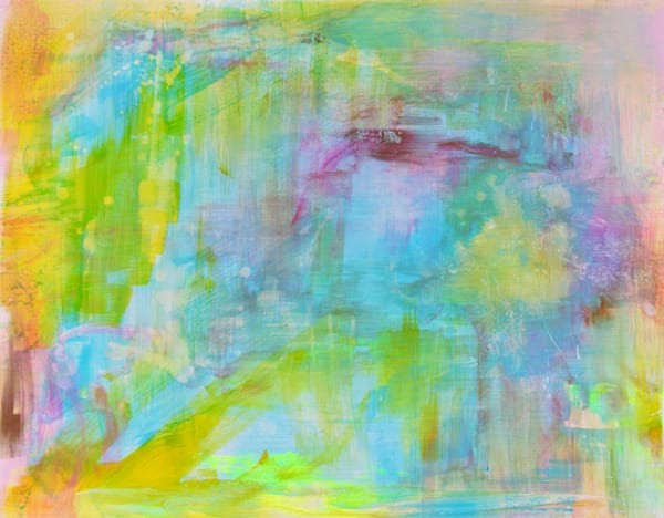 Neon Yellow Art | Art By Dana