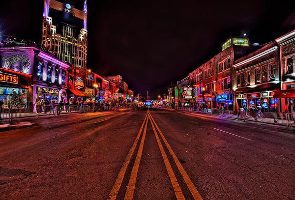 Nashville Broadway Photograph
