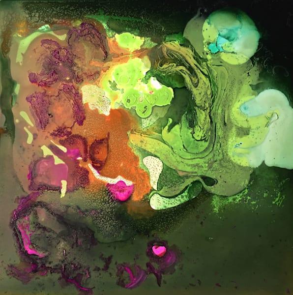 "Original Art ""Terra Tidal"" mixed media painting by Sarah Hanson"