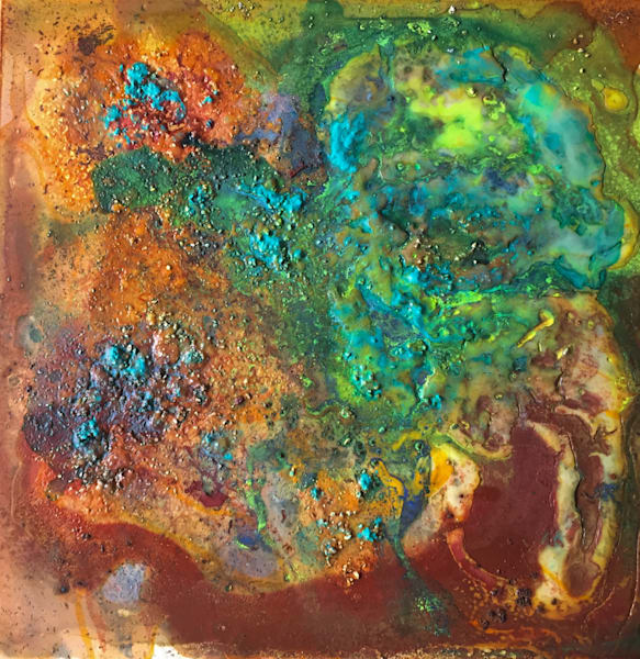 Earth Art - Original Abstract Landscape Paintings by Sarah Hanson