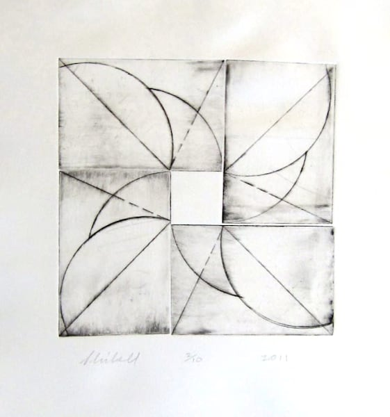 Spurs (Pinwheel Series) Art | skibellart