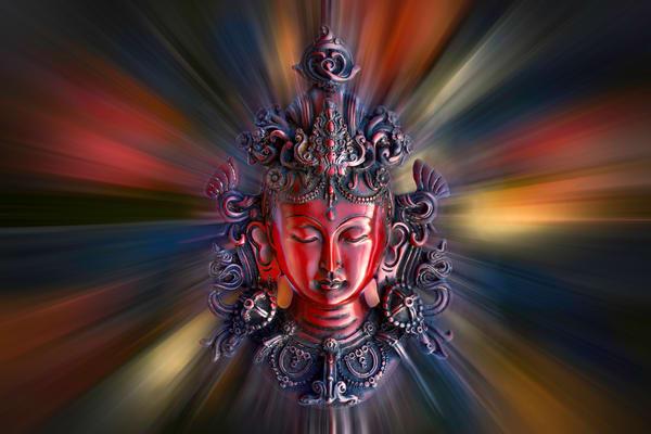 Buddha and Bodhisattva statues,