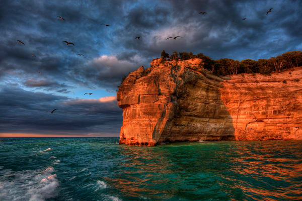 Indian Head Sunset Photography Art | Lance Rosol Fine Art Photography