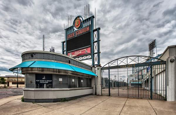 Tiger Stadium Gate Photography Art | Lance Rosol Fine Art Photography