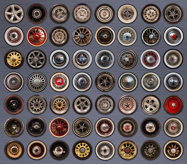 Chrysler Wheels Photography Art | Lance Rosol Fine Art Photography