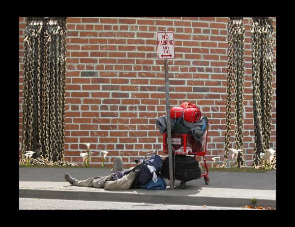 Homeless Dreaming for Sale as Fine Art