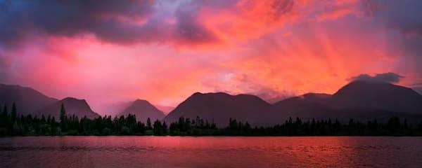 4921 Lake Dillon Sunset 2017 4x10 Art | Cunningham Gallery