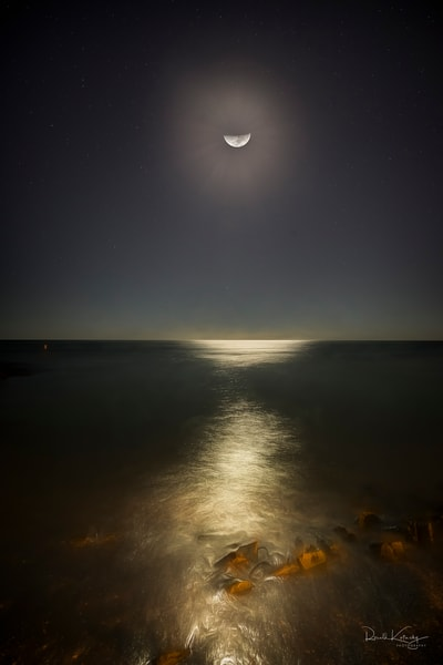 Lido Key Half Moon Photographic Art