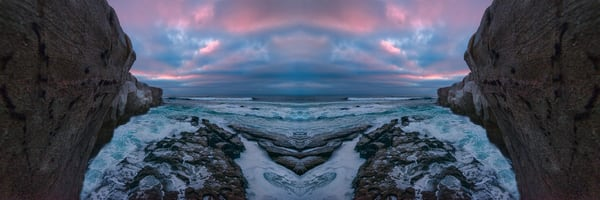 landscape photography of La Jolla's beaches, art photographs of southern California, beaches and ocean landscapes,