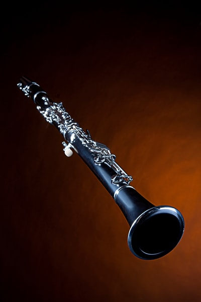 Canvas Art Clarinet on Gold 0068v