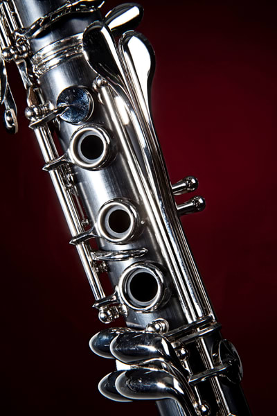 Clarinet Metal Wall Art 0182v