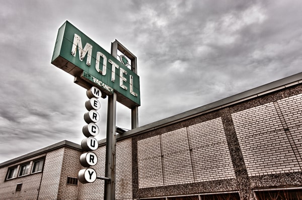 Mercury Motel (Color) Photography Art | Lance Rosol Fine Art Photography