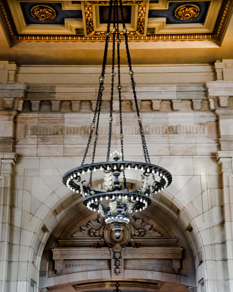 Union Station Hanging Chandelier 1
